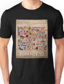 We the people, Romney 2012 Unisex T-Shirt