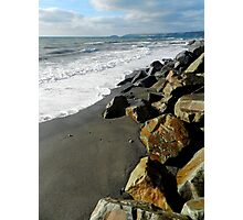 A Windswept Shore Photographic Print