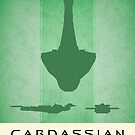 Cardassian Galor Poster by liquidsouldes