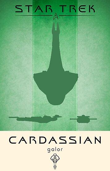Cardassian Galor Poster by liquidsouldes
