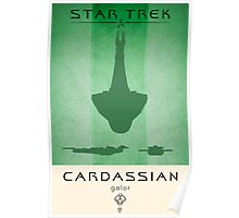 Cardassian Galor Poster Poster