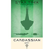 Cardassian Galor Poster Photographic Print