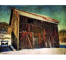 Big Old Barn Photographic Print