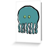 small octopus Greeting Card