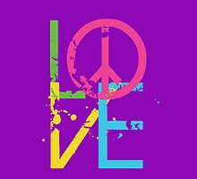 Love & Peace by Mimi Robinson