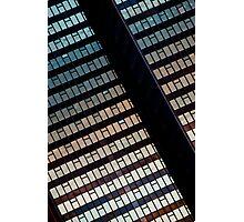 City Sunset Photographic Print