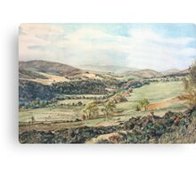 Glen Prosen,Angus,Scotland Canvas Print