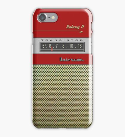 Transistor Radio - Galaxy II Red iPhone Case/Skin