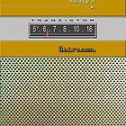 Transistor Radio - Galaxy II Gold by ubiquitoid