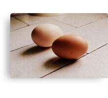 Eggs. Canvas Print