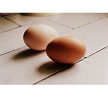 Eggs. Photographic Print