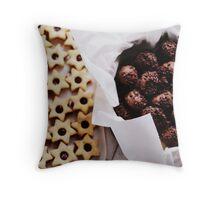 Cookies. Throw Pillow