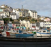 Brixham Harbour, Devon by Tony Steel