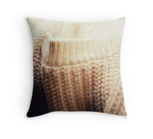 Materials - Woll. Throw Pillow