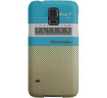 Transistor Radio - Galaxy II Blue Samsung Galaxy Case/Skin