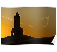 Sunrise at Darwen Tower Poster