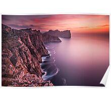 Cap de Formentor Sunset Poster