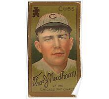Benjamin K Edwards Collection Thomas J Needham Chicago Cubs baseball card portrait Poster