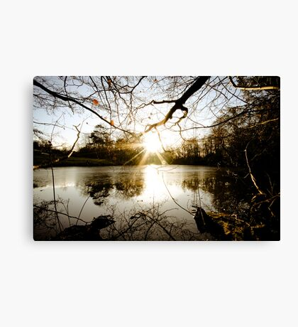 Which, As They Kiss, Consume Canvas Print