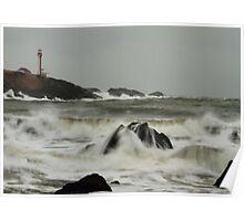 Cape Forchu Surf Poster