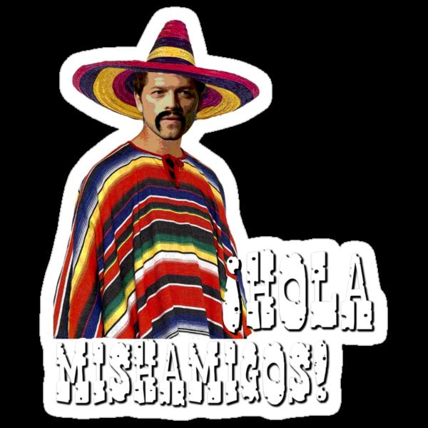 Hola Mishamigos! by Amberdreams