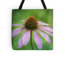 Grunge Coneflower Tote Bag