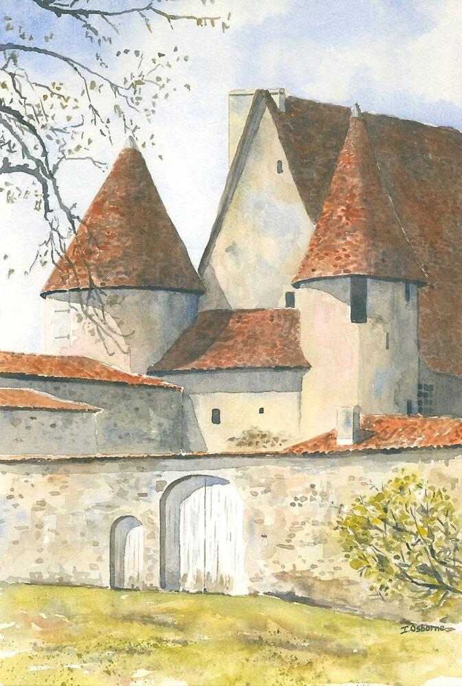 Château Chabrot, Montbron, France by ian osborne