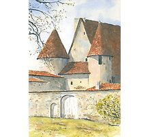 Château Chabrot, Montbron, France Photographic Print