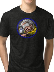 Time Travel Racer 2 Doc Version Tri-blend T-Shirt