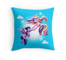 My Little Pony: Twily and Cadence Throw Pillow