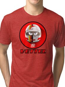 SEBASTIAN VETTEL #5_2015 Tri-blend T-Shirt