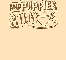 (I LOVE) Wholefoods and puppies and tea by jazzydevil