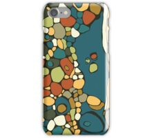 River Rocks 1, Earth Tones iPhone Case/Skin