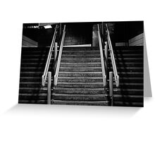 Lime Street Staircase Greeting Card