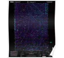 USGS Topo Map Washington State WA Larch Mountain 241948 2000 24000 Inverted Poster