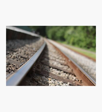 Railway Tracks Photographic Print