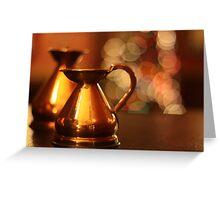 Brass Jug Greeting Card