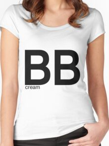 BB cream Women's Fitted Scoop T-Shirt