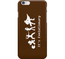 It's Evolutionary iPhone Case/Skin