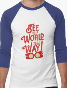 See the world this way! Men's Baseball ¾ T-Shirt