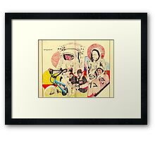spacemen Framed Print
