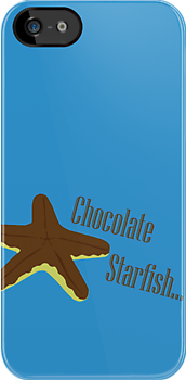 Chocolate Covered Starfish by Marc Payne Photography
