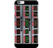 Time Circuits iPhone Case/Skin