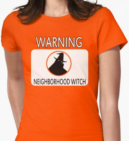 Neighborhood Witch Womens Fitted T-Shirt