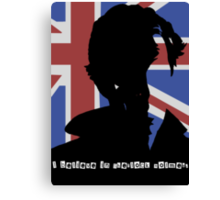 I Believe in Sherlock Holmes Canvas Print