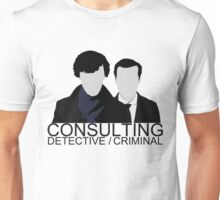 Consulting Detective/Criminal Unisex T-Shirt