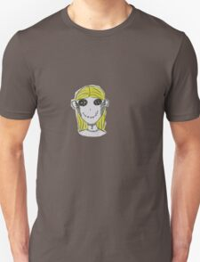 Creepy Blond Doll Tee  T-Shirt