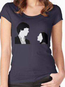 Sherlock And Irene Women's Fitted Scoop T-Shirt
