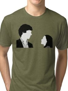 Sherlock And Irene Tri-blend T-Shirt