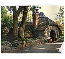 Gardener's Stone Cottage at Skylands Manor, Ringwood State Park NJ Poster